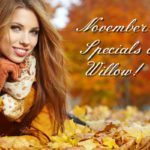 November Specials at Willow Medical Spa in Eugene