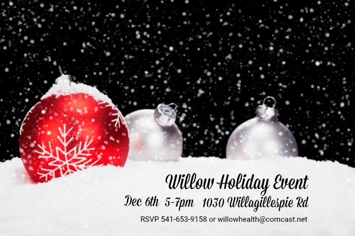 Willow Health Holiday Event